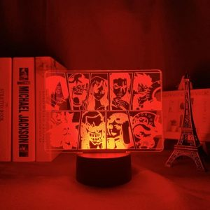 ONE PIECE TEAM LED ANIME LAMP (ONE PIECE) Otaku0705 TOUCH Official Anime Light Lamp Merch
