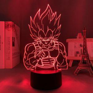 BEAST VEGETA LED ANIME LAMP (DBZ) Otaku0705 TOUCH +(REMOTE) Official Anime Light Lamp Merch