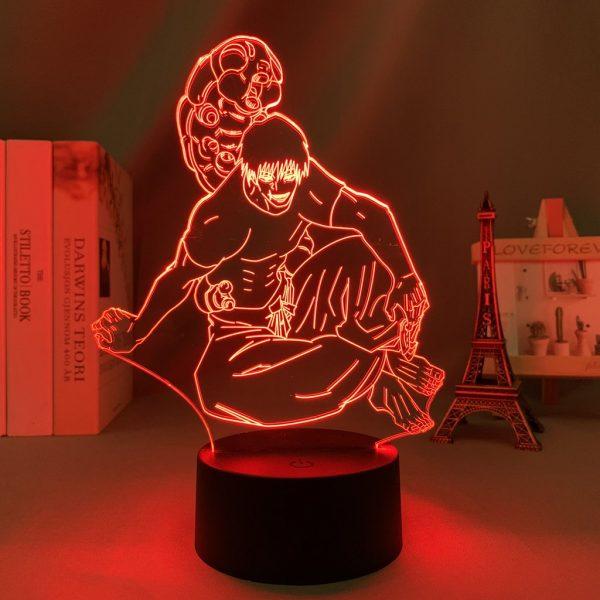 TOJI FUSHIGURO LED ANIME LAMP (JUJUTSU KAISEN) Otaku0705 TOUCH Official Anime Light Lamp Merch