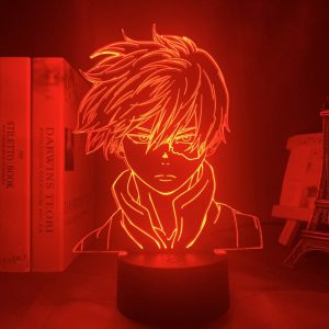 SHOTO TODOROKI+ LED ANIME LAMP (MY HERO ACADEMIA) Otaku0705 TOUCH +(REMOTE) Official Anime Light Lamp Merch