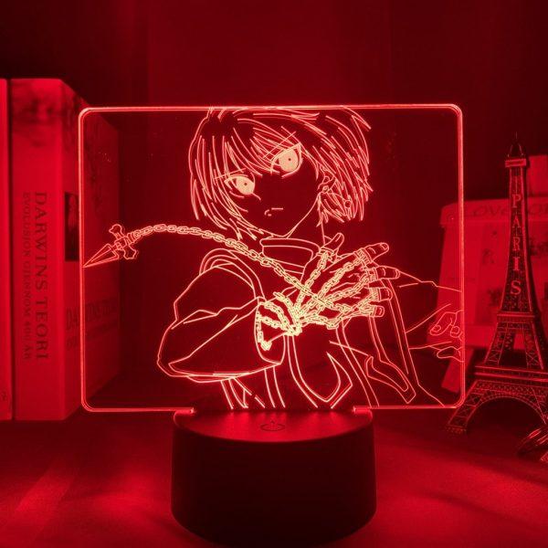 KURAPIKA CHAINS LED ANIME LAMP (HUNTER X HUNTER) Otaku0705 TOUCH +(REMOTE) Official Anime Light Lamp Merch