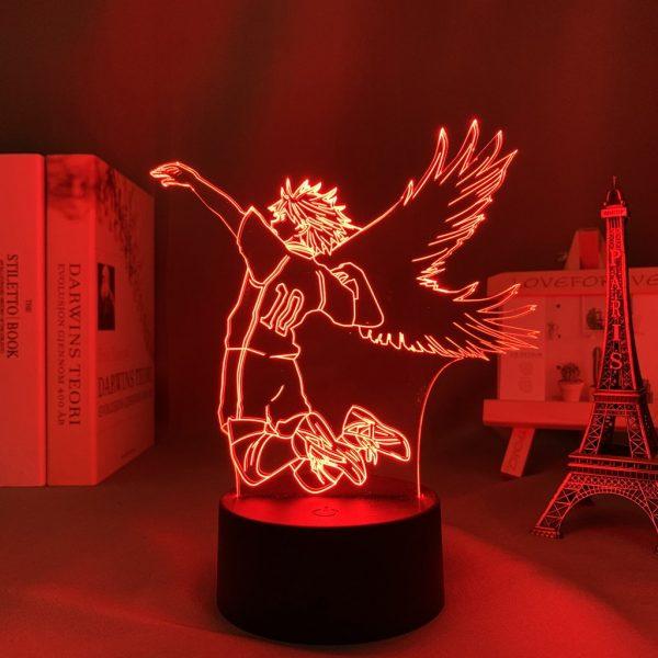 HINATA WINGED SHOYO LED ANIME LAMP (HAIKYUU!!) Otaku0705 TOUCH +(REMOTE) Official Anime Light Lamp Merch