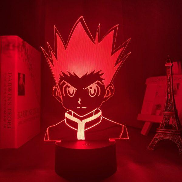 GON FREECSS LED ANIME LAMP (HUNTER X HUNTER) Otaku0705 TOUCH +(REMOTE) Official Anime Light Lamp Merch