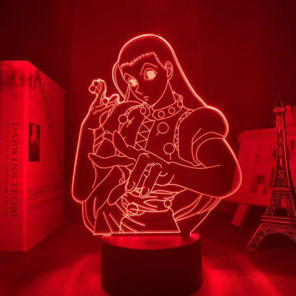 ILLUMI ZOLDYCK LED ANIME LAMP (HUNTER  X HUNTER) Otaku0705 TOUCH +(REMOTE) Official Anime Light Lamp Merch