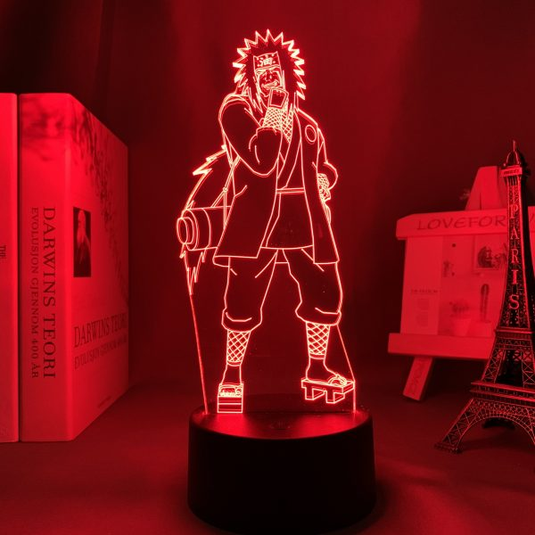 JIRAIYA + LED ANIME LAMP (NARUTO) Otaku0705 TOUCH Official Anime Light Lamp Merch