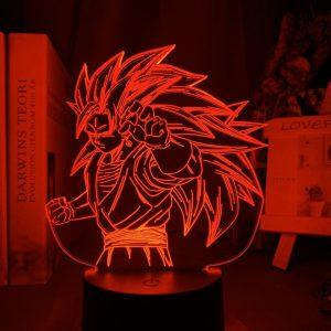 SUPER SAIYAN GOKU LED ANIME LAMP (DBZ) Otaku0705 TOUCH Official Anime Light Lamp Merch