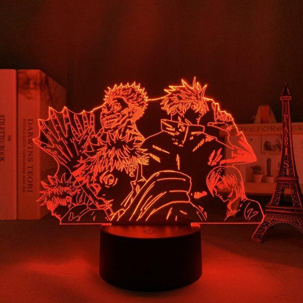 SUKUNA X TEAM GOJO LED ANIME LAMP  (JUJUTSU KAISEN) Otaku0705 TOUCH +(REMOTE Official Anime Light Lamp Merch