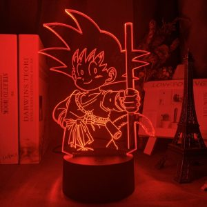 SENSEI GOKU LED ANIME LAMP (DBZ) Otaku0705 TOUCH +(REMOTE) Official Anime Light Lamp Merch