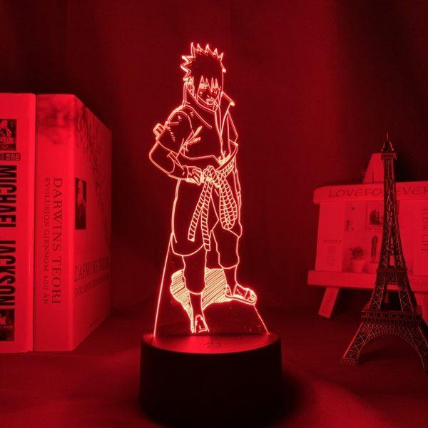SASUKE LED ANIME LAMP (NARUTO) Otaku0705 TOUCH +(REMOTE) Official Anime Light Lamp Merch