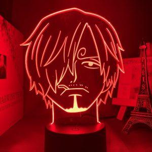 VINSMOKE LED ANIME LAMP (ONE PIECE) Otaku0705 TOUCH Official Anime Light Lamp Merch