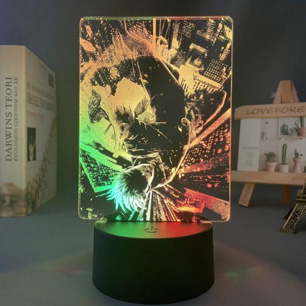SATORU GOJO LED ANIME LIGHT (JUJUTSU KAISEN) Otaku0705 TOUCH X2 TONE Official Anime Light Lamp Merch