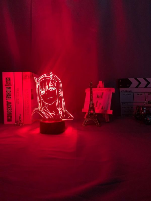 anime 3 d lamp zero two figure nightlight description 7 - Anime 3D lamp