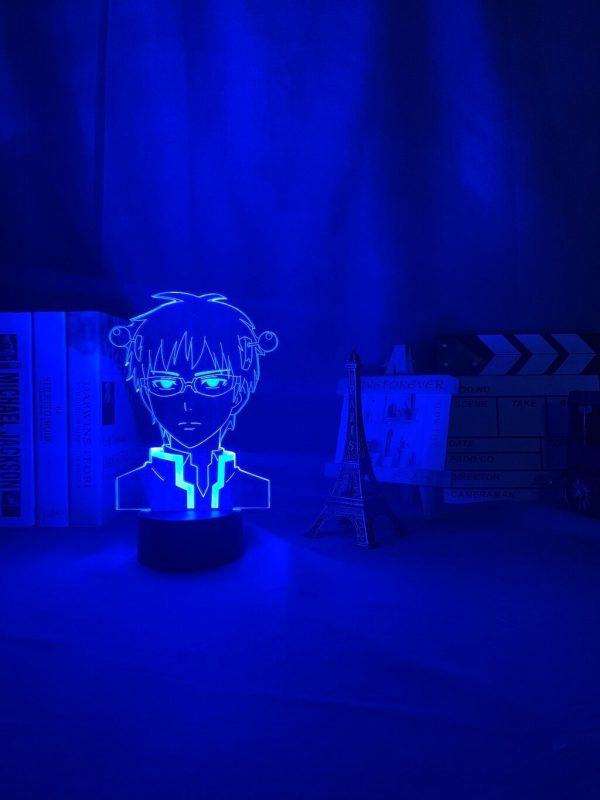anime light the disastrous life of saiki description 2 - Anime 3D lamp