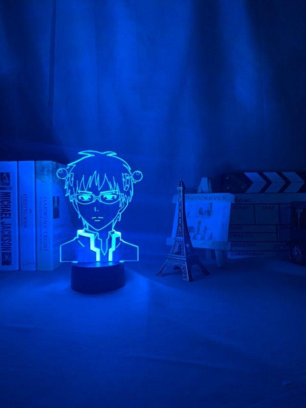 anime light the disastrous life of saiki description 4 - Anime 3D lamp