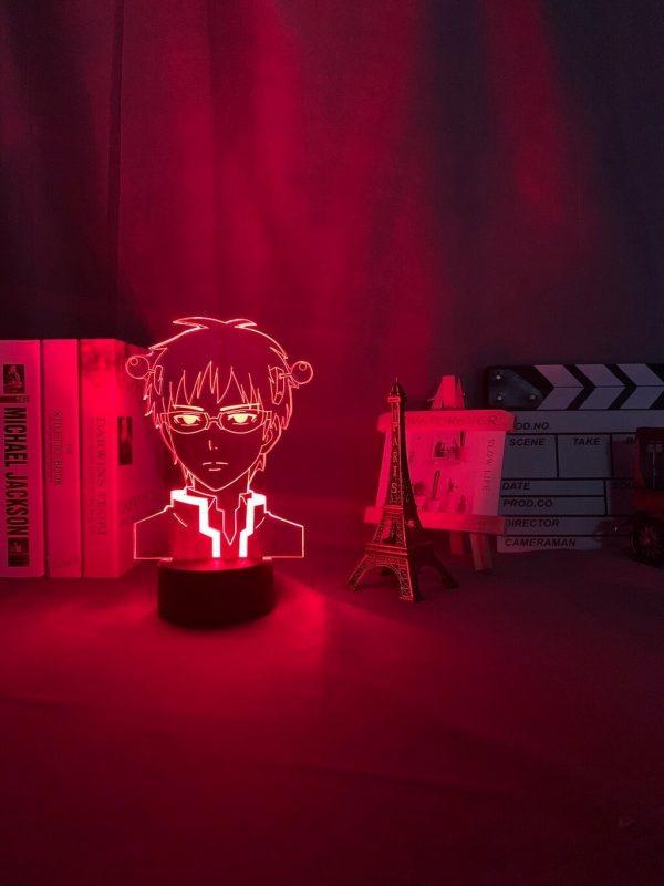 anime light the disastrous life of saiki description 6 - Anime 3D lamp