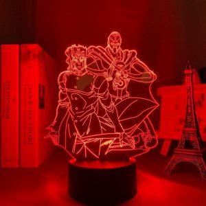NORIAKI KAKYOIN + LED ANIME LAMPS (JOJO'S BIZARRE ADVENTURE) Otaku0705 TOUCH Official Anime Light Lamp Merch
