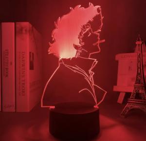 SPIKE WHATEVER LED ANIME LAMP (COWBOY BEBOP) Otaku0705 TOUCH Official Anime Light Lamp Merch