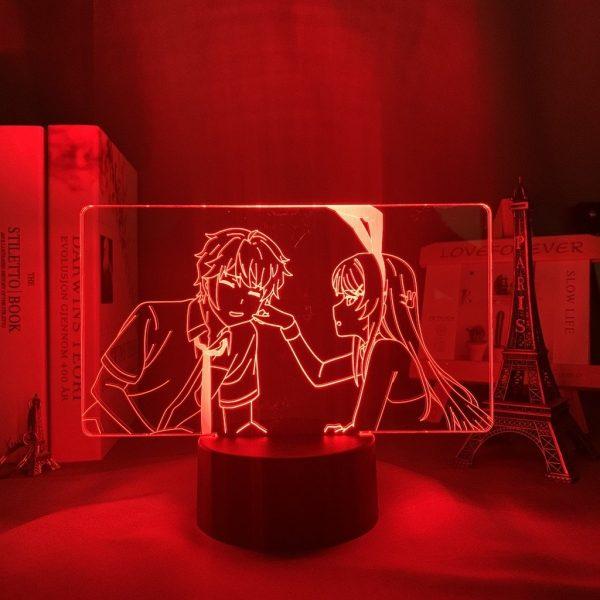 MAI X SAKUTA LED ANIME LAMP (RASCAL DOES NOT DREAM OF A BUNNY GIRL SENPAI) Otaku0705 TOUCH Official Anime Light Lamp Merch