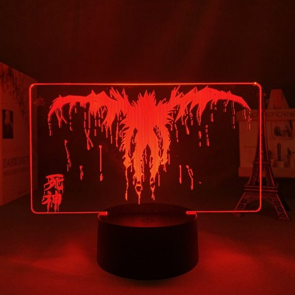 RYUK SHADOW LED ANIME LAMP (DEATH NOTE) Otaku0705 TOUCH+(REMOTE) Official Anime Light Lamp Merch
