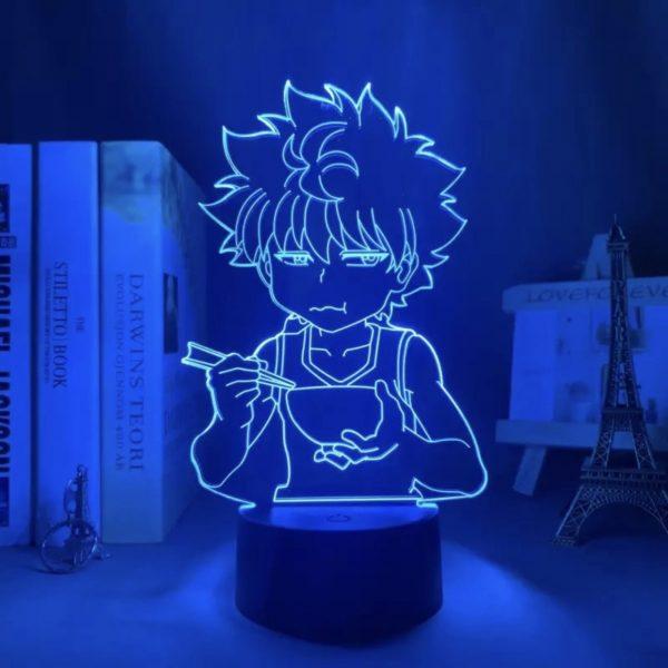 KILLUA EATING LED ANIME LAMP (HUNTER X HUNTER) Otaku0705 TOUCH +REMOTE) Official Anime Light Lamp Merch