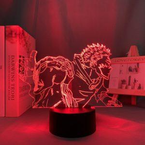 SUKUNA LED ANIME  LAMP (JUJUTSU KAISEN) Otaku0705 TOUCH Official Anime Light Lamp Merch