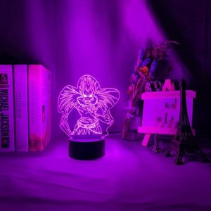 RYUK+ LED ANIME LAMP (DEATH NOTE) Otaku0705 TOUCH+(REMOTE) Official Anime Light Lamp Merch
