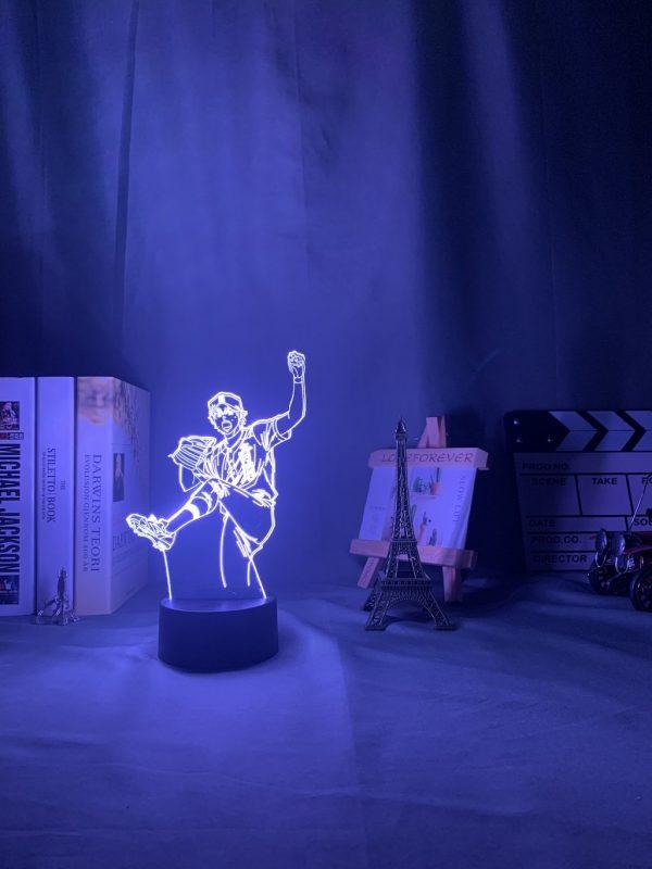 img 3 3D Lamp Anime Ace of Diamond Sawamura Li - Anime 3D lamp