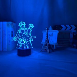 ASH X EIJI LED ANIME LAMP (BANANA FISH) Otaku0705 TOUCH Official Anime Light Lamp Merch