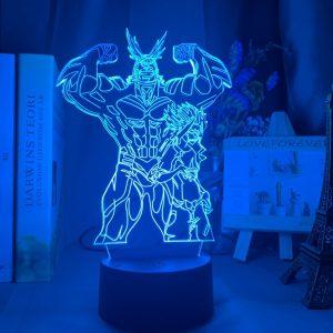 ALL MIGHT LED ANIME LAMP (MY HERO ACADEMIA) Otaku0705 TOUCH Official Anime Light Lamp Merch