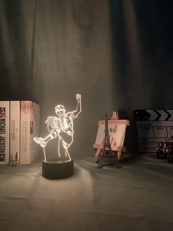 img 5 3D Lamp Anime Ace of Diamond Sawamura Li - Anime 3D lamp
