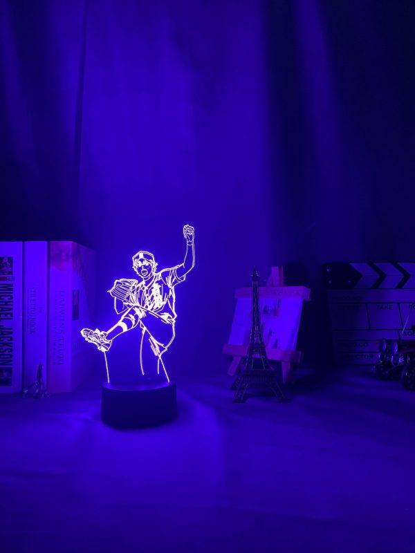 img 6 3D Lamp Anime Ace of Diamond Sawamura Li - Anime 3D lamp