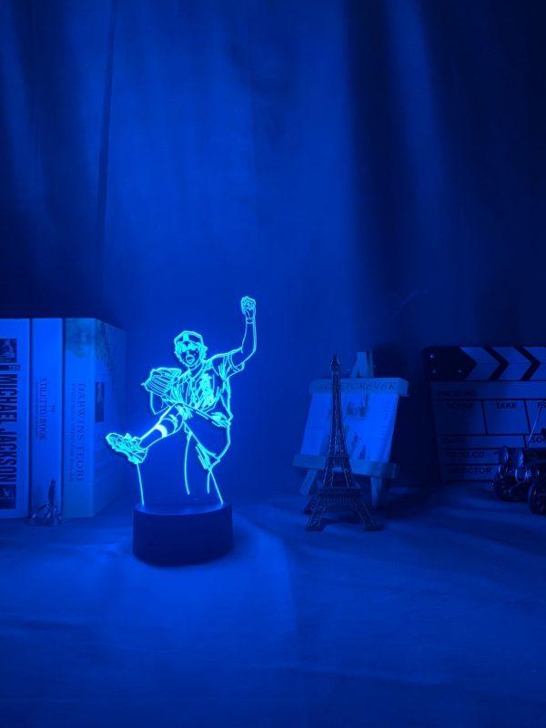img 7 3D Lamp Anime Ace of Diamond Sawamura Li - Anime 3D lamp