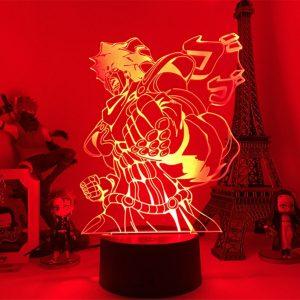 STAR PLATINUM LED ANIME LAMP (JOJO'S BIZARRE ADVENTURE) Otaku0705 TOUCH Official Anime Light Lamp Merch