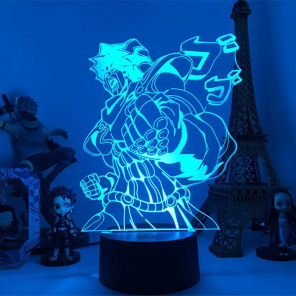 night lamp anime jo jos bizarre adventure main 2 - Anime 3D lamp