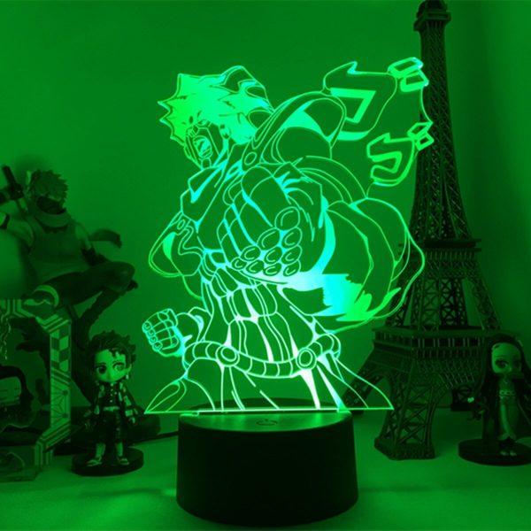 night lamp anime jo jos bizarre adventure main 5 - Anime 3D lamp