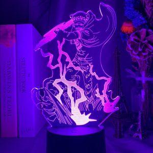 TRAFALGAR D. WATERLAW LED ANIME LAMP (ONE PIECE) Otaku0705 TOUCH Official Anime Light Lamp Merch
