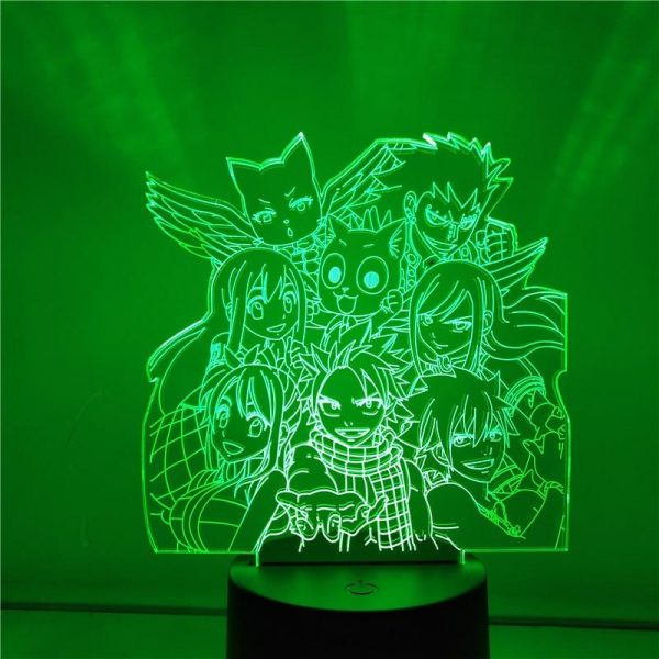 product image 1442093123 - Anime 3D lamp
