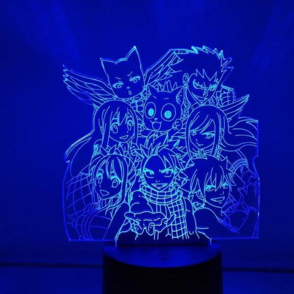 FAIRY TAIL TEAM LED ANIME LAMP (FAIRY TAIL) Otaku0705 TOUCH Official Anime Light Lamp Merch