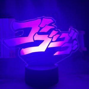 JOJO LOGO LED ANIME LAMPS (JOJO'S BIZARRE ADVENTURE) Otaku0705 TOUCH +(REMOTE) Official Anime Light Lamp Merch