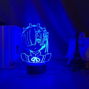 REM LED ANIME LAMP (RE:ZERO) Otaku0705 TOUCH +(REMOTE) Official Anime Light Lamp Merch