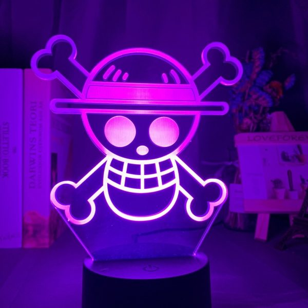 ONE PIECE LOGO+ LED ANIME LAMP (ONE PIECE) Otaku0705 TOUCH +(REMOTE) Official Anime Light Lamp Merch