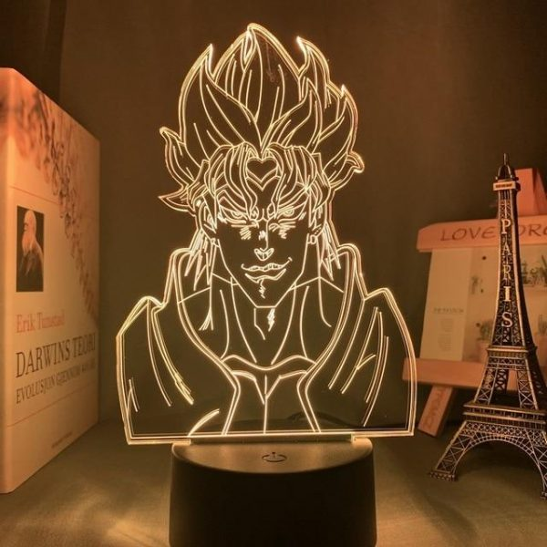 DIO BRANDO LED ANIME LAMP (JOJO'S BIZARRE ADVENTURE) Otaku0705 TOUCH (+REMOTE) Official Anime Light Lamp Merch