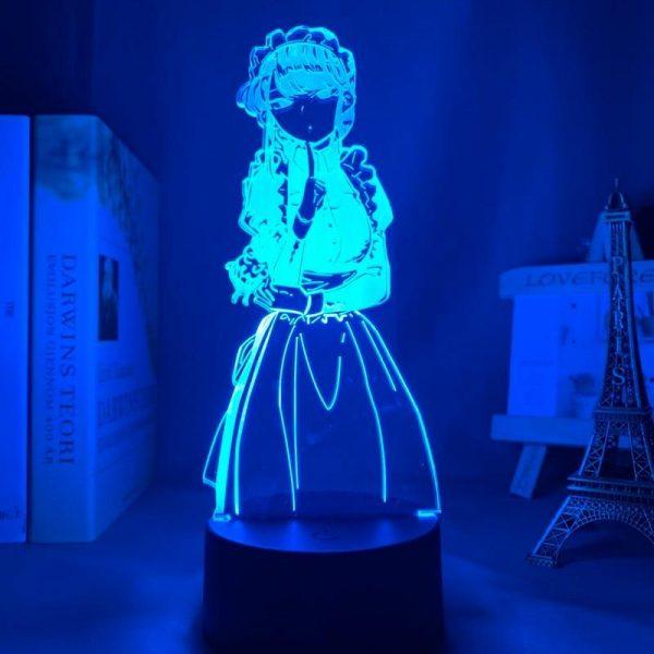 KOMI WAIFU LED ANIME LAMP (KOMI CANT COMMUNICATE) Otaku0705 TOUCH Official Anime Light Lamp Merch