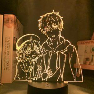 KOTOKO AND KURO LED ANIME LAMP (IN/SPECTRE) Otaku0705 TOUCH Official Anime Light Lamp Merch