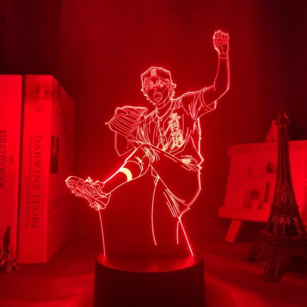 EIJUN SAWAMURA LED ANIME LAMP (DIAMOND NO ACE) Otaku0705 TOUCH +(REMOTE) Official Anime Light Lamp Merch