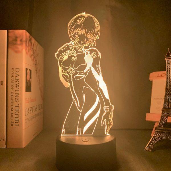 REI AYANAMI LED ANIME LAMP (NEON GENESIS EVANGELION) Otaku0705 TOUCH Official Anime Light Lamp Merch