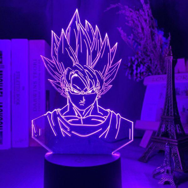 GOKU+ LED ANIME LAMP (DBZ) Otaku0705 TOUCH +(REMOTE) Official Anime Light Lamp Merch