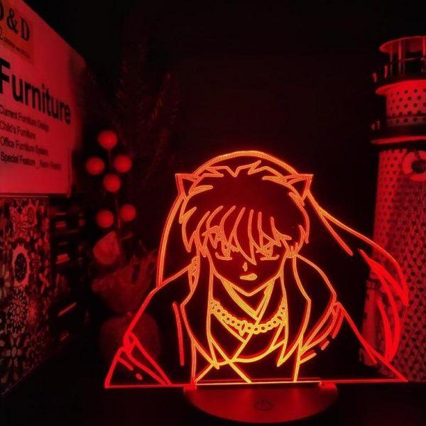 INUYASHA LED ANIME LAMP (INUYASHA) Otaku0705 TOUCH +(REMOTE) Official Anime Light Lamp Merch