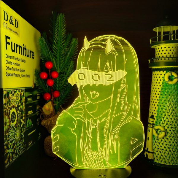 product image 1591307055 - Anime 3D lamp