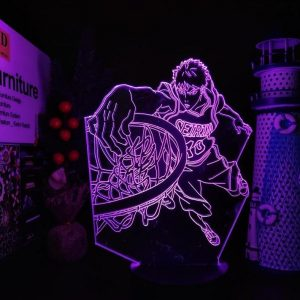 KAIGAMI TAIGA ANIME LED LAMP (KUROKOS NO BASKETBALL) Otaku0705 TOUCH Official Anime Light Lamp Merch
